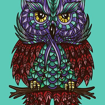Owl Feathers by insanemoe
