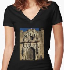 Mission of San Jose Women's Fitted V-Neck T-Shirt