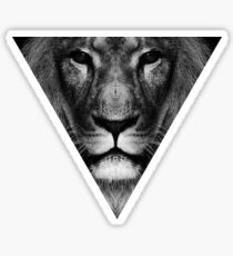 lion inside Sticker