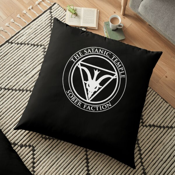 Sober Faction Floor Pillow