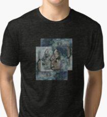 Lunar chameleon - Soulmates series Tri-blend T-Shirt