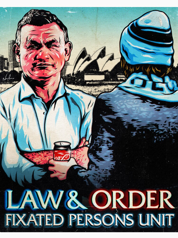 LIMITED RUN: Law & Order: Fixated Persons Unit — A Rational Fear — Comedy Podcast — Nordacious Design by ARationalFear
