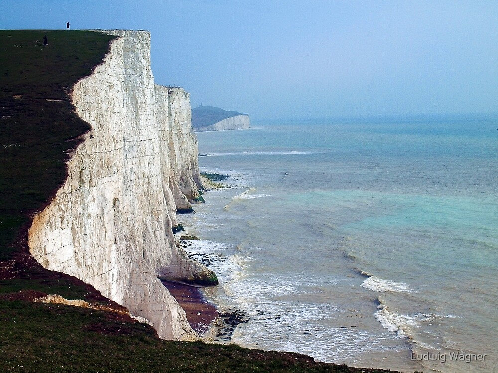 Seven Sisters, East Sussex by Ludwig Wagner