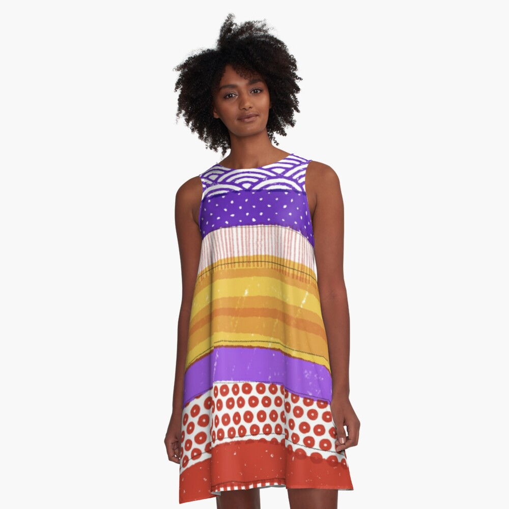 Geology Lesson A-Line Dress