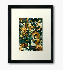 Raw Texture Framed Print