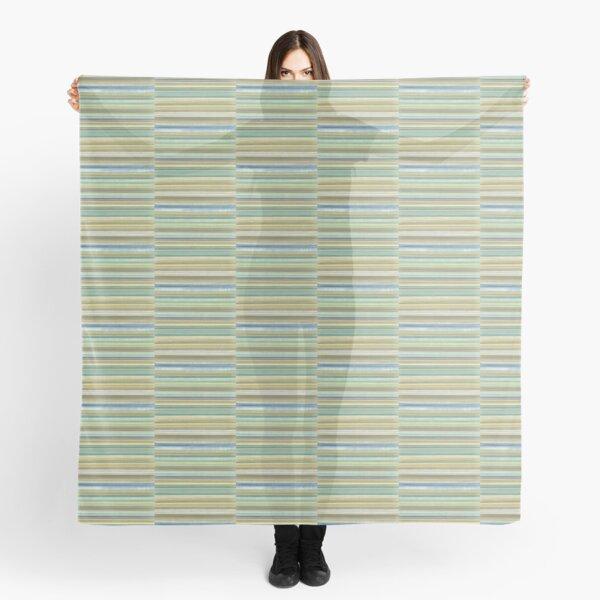 Striped gradient pattern design Scarf