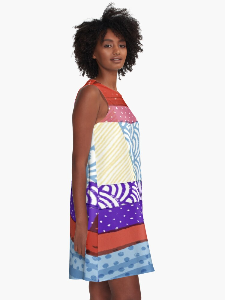 Alternate view of In the Shade A-Line Dress