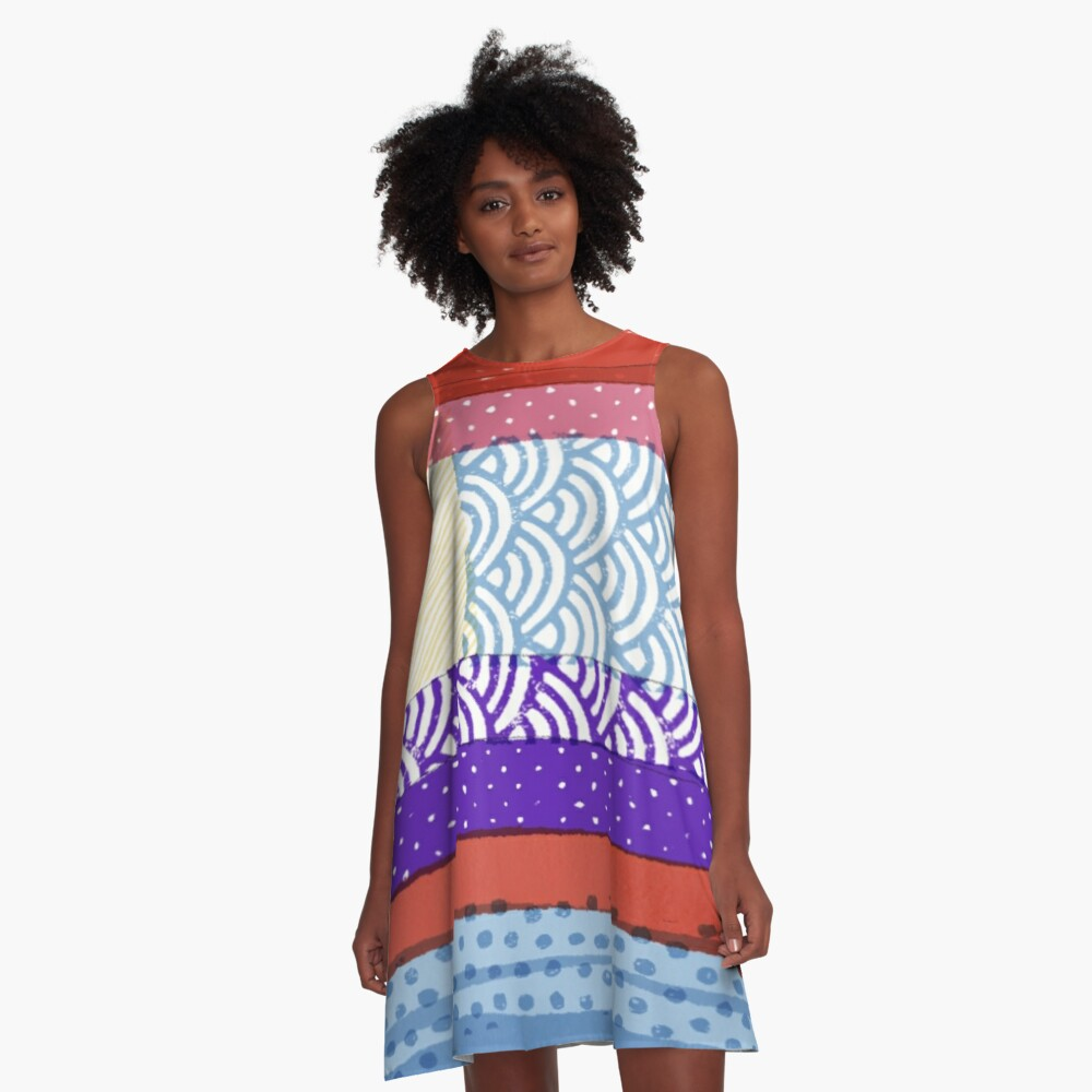 In the Shade A-Line Dress