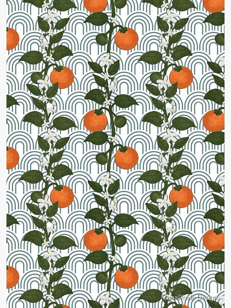 Tangerine Paper by MahaphalaDesign