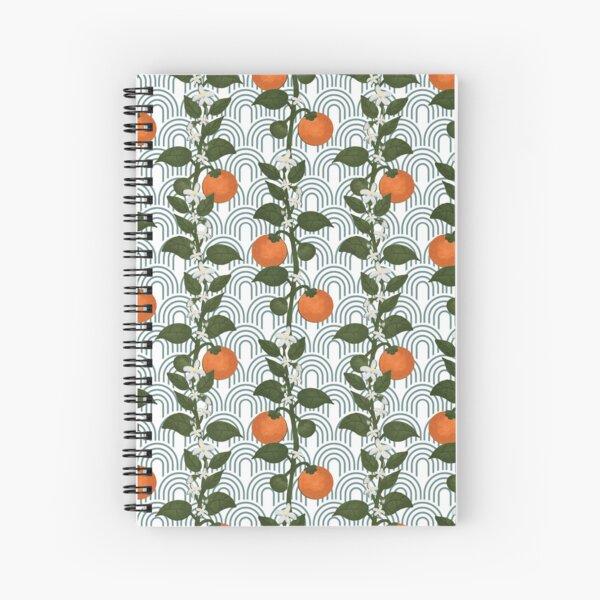 Tangerine Paper Spiral Notebook