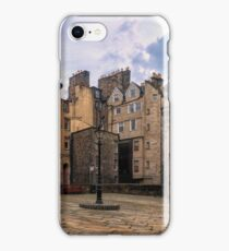 Panorama View: Lady Stairs Close, The Royal Mile Edinburgh iPhone Case/Skin