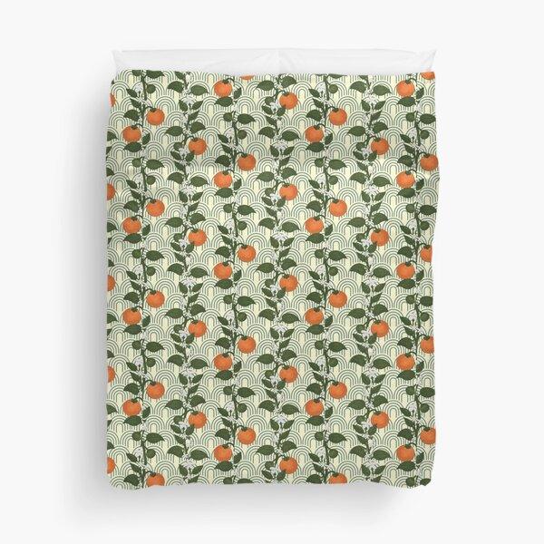 Tangerine Home Duvet Cover