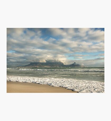 Golden Light over Table Mountain Photographic Print