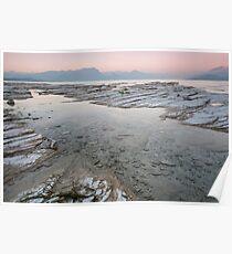 Sunset on Lake Garda Poster