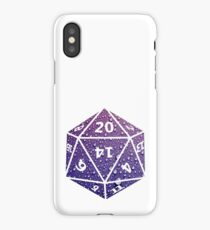 D20 Raindrops iPhone Case/Skin
