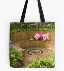 Sunken Garden Tote Bag