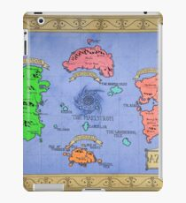 Azeroth map - Colored hand drawn iPad Case/Skin