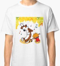Dance Calvin and Hobbes  Classic T-Shirt