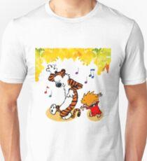 Dance Calvin and Hobbes  Unisex T-Shirt