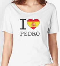 I ♥ PEDRO Women's Relaxed Fit T-Shirt