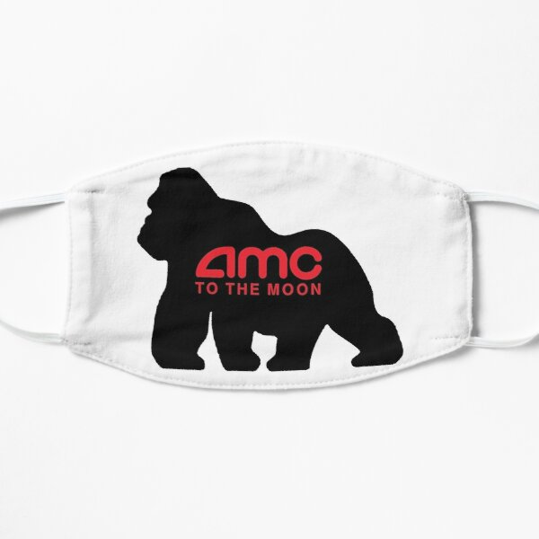 AMC to the Moon Flat Mask