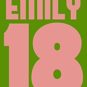EMILY 18 Baby Pink by Kemzi