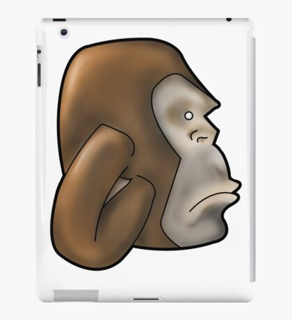 Dimitri the Ape iPad Case/Skin