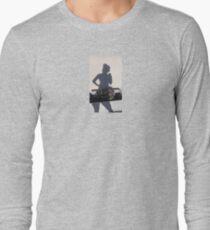 Shadow Flower Sniffer Selfie Long Sleeve T-Shirt