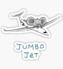 Jumbo Jet Sticker