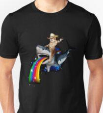 Bucking Sharkaroo Unisex T-Shirt