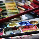 Colours in tray by nksran