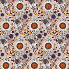 Gipsy Floral by mariabogade