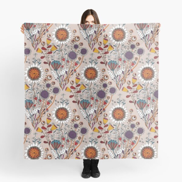 Gipsy Floral Scarf