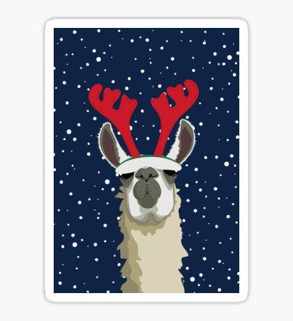 Llet It Snow Sticker