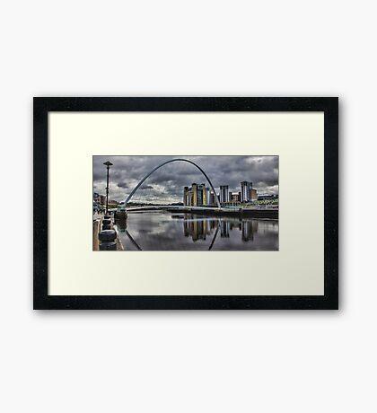 Gateshead Millennium Bridge Framed Print