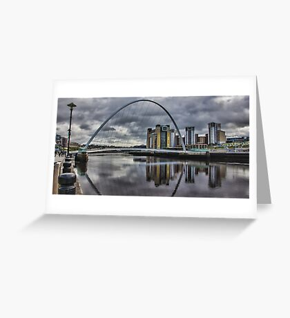 Gateshead Millennium Bridge Greeting Card
