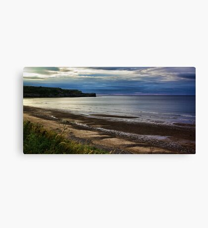 Sunset on the Coast Canvas Print