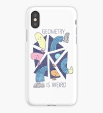 GEOMETRY IS WEIRD! iPhone Case