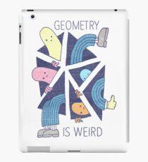 GEOMETRY IS WEIRD! iPad Case/Skin