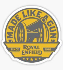 Royal Enfield - Made Like A Gun Sticker