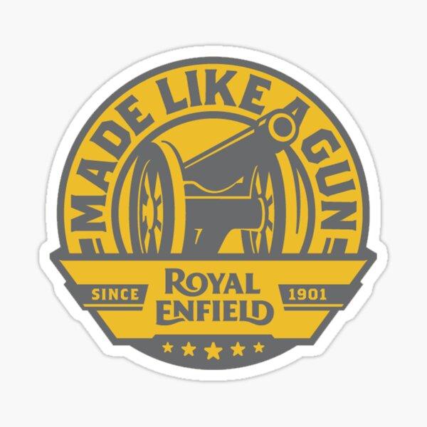 Royal Enfield - Hecho como un arma Pegatina