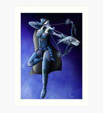 Ice Archer  Art Print