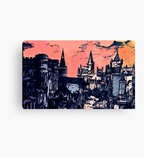 Lothric Castle in a hollow world Canvas Print