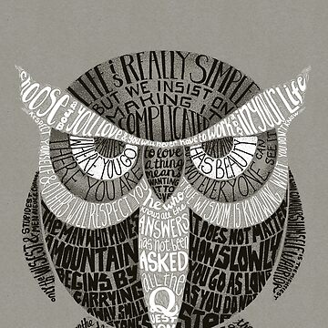 Wise Old Owl dice de littleclyde