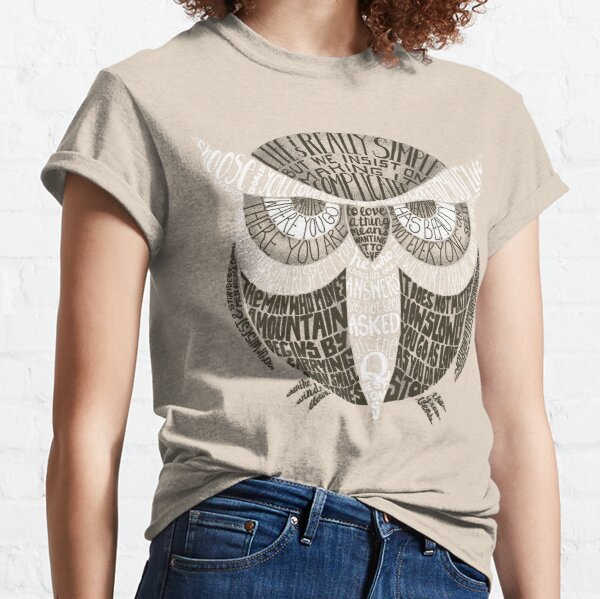 Wise Old Owl Says Classic T-Shirt