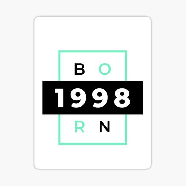 Born in 1998  Sticker