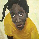 Jamaican school girl by James Lewis Hamilton
