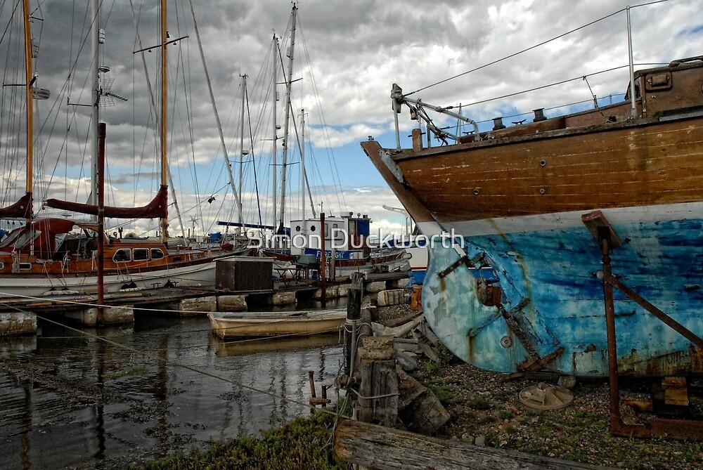 Southwold Quay by Simon Duckworth