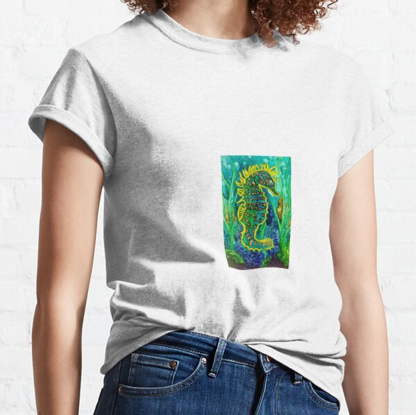 Camouflage of the Sea Classic T-Shirt