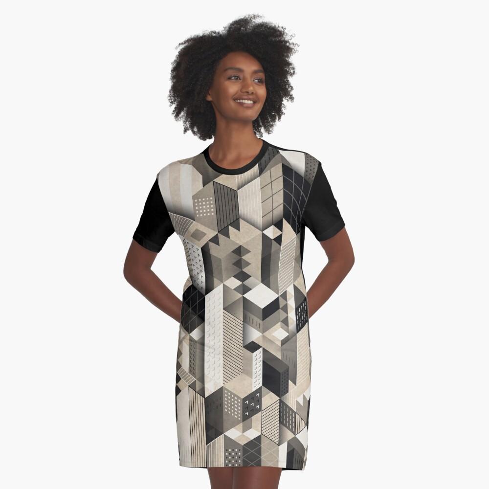 Skyscrapercity T-Shirt Kleid